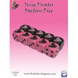 Jung Pirate dice (10)