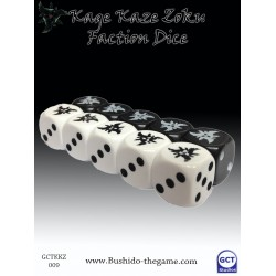 Kage Kaze faction dice