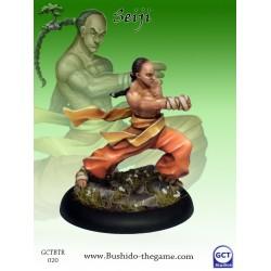 Seiji young monk