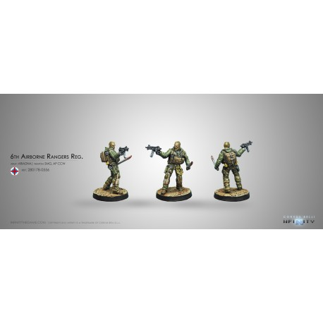 6th Airborne Rangers Reg. (Submachine gun)