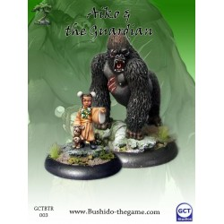 Aiko et gorille aiko and gorilla