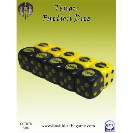 Tengu faction dice (10)
