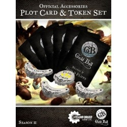Guild Ball Season 2 Plot Cards & Token Set