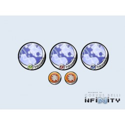 Infinity Tokens TO-Camo Blue 40mm (5)