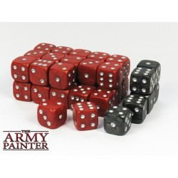 Tool - Wargaming Dice: Red w. Black