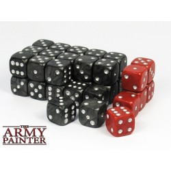 Tool - Wargaming Dice: Black w. Red