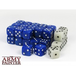 Tool - Wargaming Dice: Blue w. White
