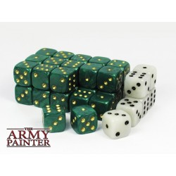Tool - Wargaming Dice: Green w. White