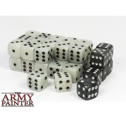 Tool - Wargaming Dice: White w. Black