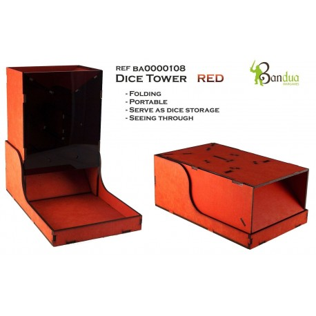 Dice Tower Red