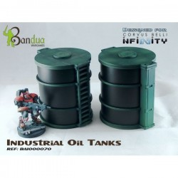 Industrial Oil Tanks