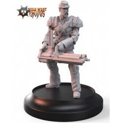Union Line Troop with Gatling Gun (Light Support)