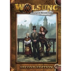 Wolsung Steampunk Skirmish Rulebook - 2nd Ed.