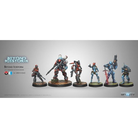 Beyond Icestorm Pack d'Expansion avec A. Bounty Hunter (2 Breaker Pistols) en figurine exclusive