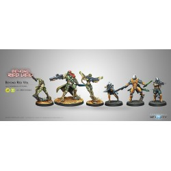 Beyond Red Veil Pack d'Expansion avec CSU (Breaker Rifle) en figurine exclusive