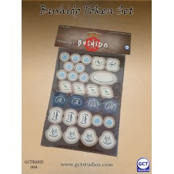 Bushido token set ( Punch board)