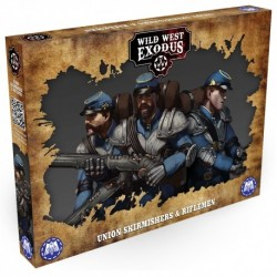 test fiche Union Skirmishers and Riflemen