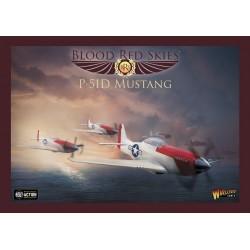 US P-51 Mustang Escadron - 6 Avions