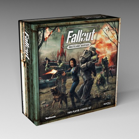 Fallout: Wasteland Warfare - Two Player PVC Starter Set (ENG)