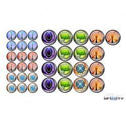 Infinity Tokens Set ITS (35)