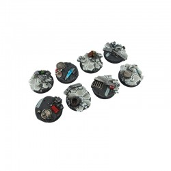 Urban Fight Bases, Round 32mm (4)