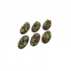 Forest Bases, Oval 60mm (4)