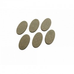 Mosaic Bases, Oval 60mm (4)