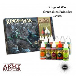 Warpains Kings Of War Greenskins Paint Set