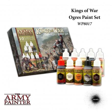 Warpaints Kings Of War Ogres Paint Set
