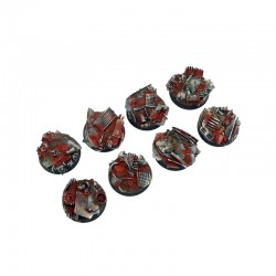 Scrapyard Bases, Round 32mm (4)