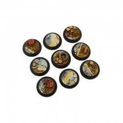 Highway Bases, WRound 30mm (5)
