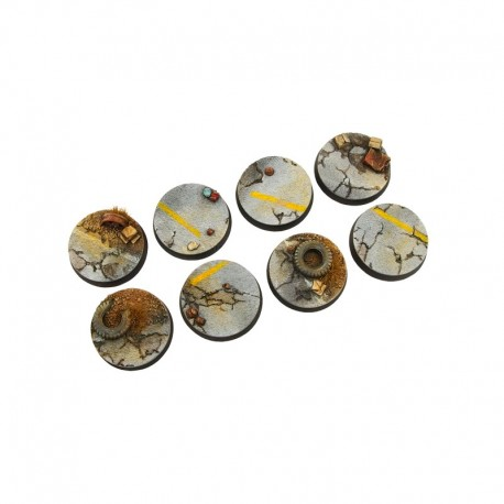 Highway Bases, Round 32mm (4)