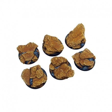 Shale Bases, Round 40mm (2)