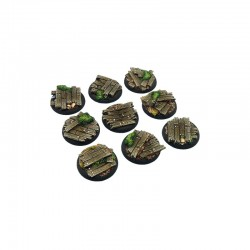 Wood Bases, WRound 30mm