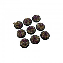 Dark Temple Bases, WRound 30mm (5)