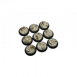 Wasteland Bases, WRound 30mm (5)