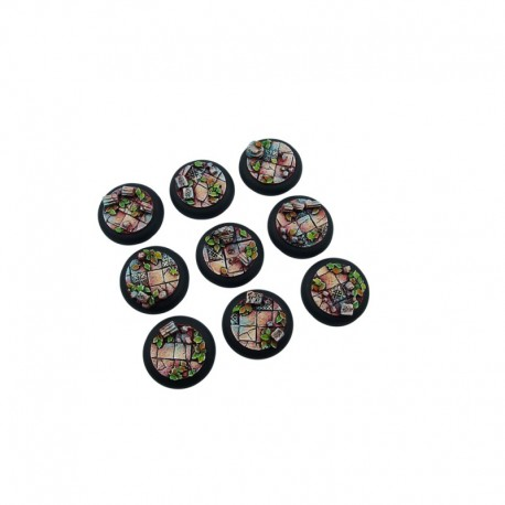 Ancient Bases, WRound 30mm (5)
