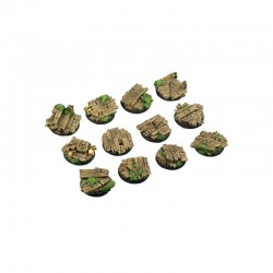 Wood Bases, Round 25mm (5)