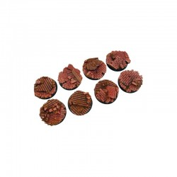 Old Factory Bases, Round 32mm (4)