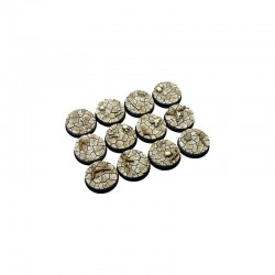 Wasteland Bases, Round 25mm (5)