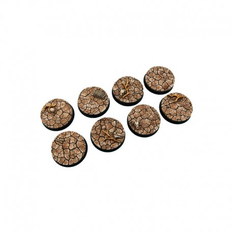 Wasteland Bases, Round 32mm (4)