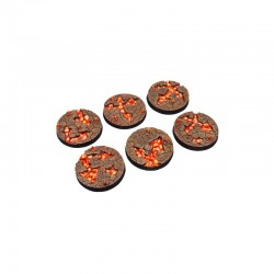 Chaos Waste Bases, Round 40mm