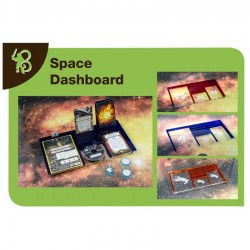 Space Dashboard Rebel X-wing