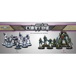 Opération : Coldfront avec Wardrivers, Mercenary Hacker (figurine exclusive précommande)
