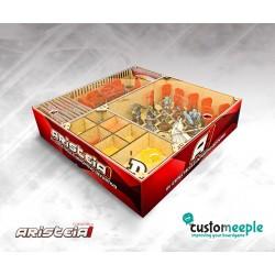 ARISTEIA! Boite de rangement modulaire MDF avec couvercle acrylique