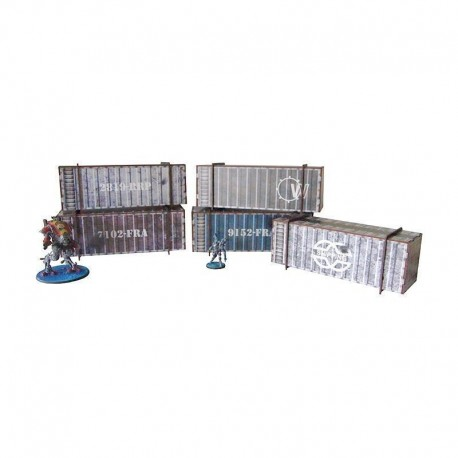 Container Pack prepainted