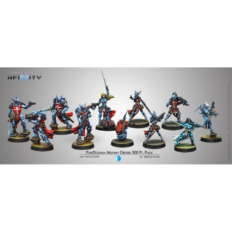 Panoceania Military Orders 300 pts Pack
