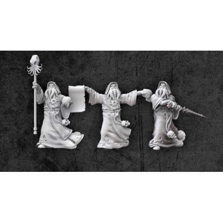 Achtung! Cthulhu Miniatures - Cultists of the Old Gods