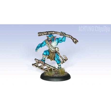 Achtung! Cthulhu Miniatures - Deep Ones: Reef Breaker