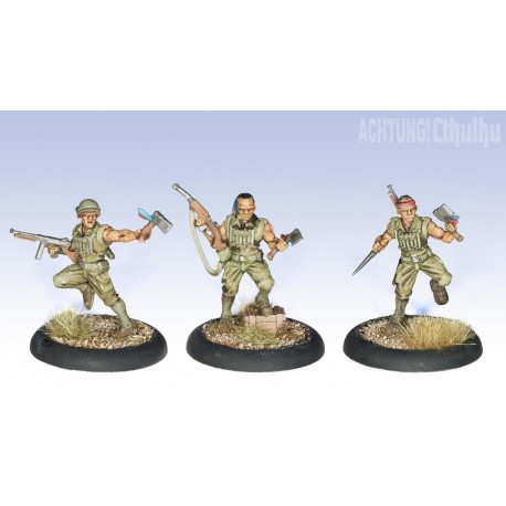 Achtung! Cthulhu Miniatures - Pathfinder Demonhunters